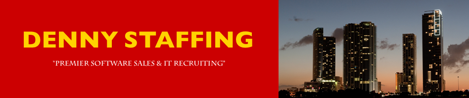 denny staffing software sales recruiting
